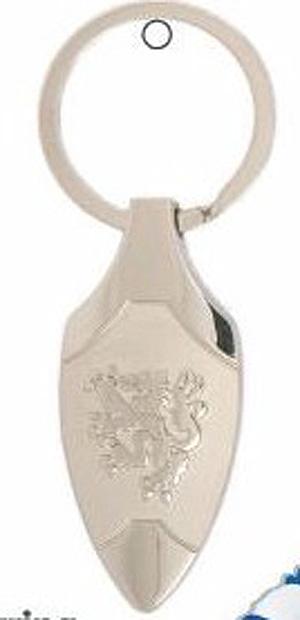 Scottish Thistle Metal Keyring (quality budget gift)