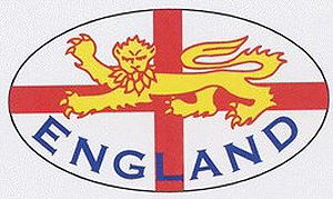 England Lion & English Decal Sticker