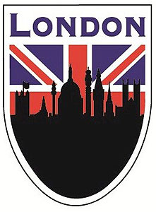 Scenes of London - Union Jack English Decal Car Sticker