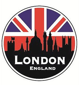 London Famous Landmarks Decal Car Sticker