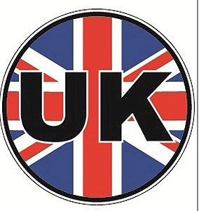 Union Jack - British - United Kingdom - Decal Car Sticker