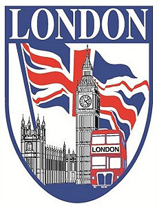 London Big Ben & Parliament Decal Car STICKER