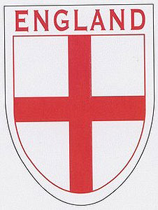 English Flag of St George Flag Decal Car Sticker