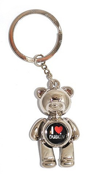 I Love Dublin Irish Quality Keyring / Key Chain - Eire
