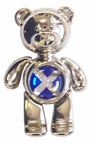 Teddy Bear Scottish Flag Magnet (Gift from Scotland)