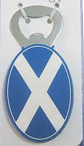 Scottish Bottle Opener Magnet (Souvenir of Scotland)