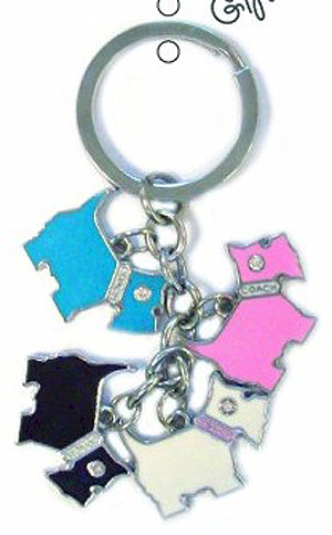 Scottie Terrier Dangling Dogs Keyring