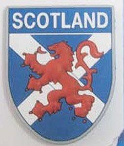 Scottish red Lion Rampart Keyring (Souvenir from Scotland)