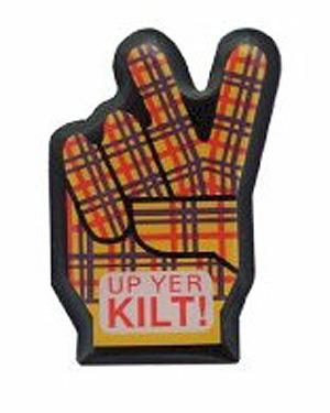 Up Yer Kilt Pin Lapel Clip (Scottish gift item)