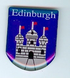 Edinburgh pin lapel clip
