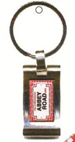 ABBEY ROAD British Keyring - Home of the Beatles ! (Home of the Beatles !)