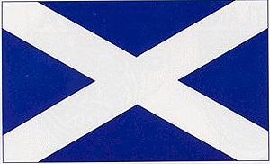 Scotland National Flag Decal Car Sticker (Scottish gift)