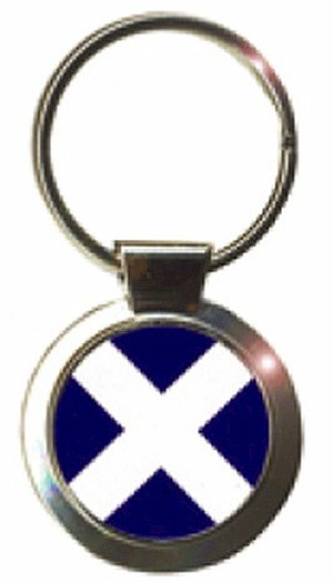 SCOTTISH AMERICAN FLAG METAL LICENSE PLATE St Andrew/'s Cross Scotish Royal Arms