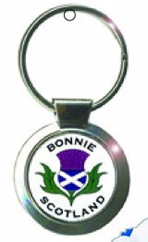 Bonnie Scotland Keyring (Scottish gift)