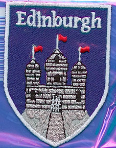 Edinburgh Castle Embroidered Patch