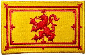 Scotland Lion Rampart Patch