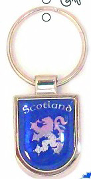 Lion Rampart Scottish keyring (Great Scottish memento)