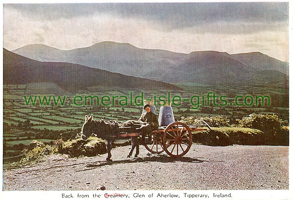 Tipperary Vintage Photographs - Aherlow - Glen of Aherlow