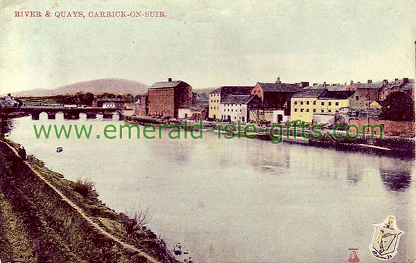 Tipperary - Carrick-On-Suir - River and Quays