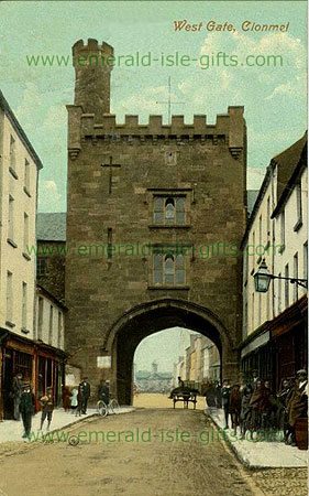 Tipperary - Clonmel - View of West Gate