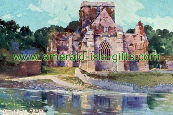 Tipperary - Holycross Abbey - painting