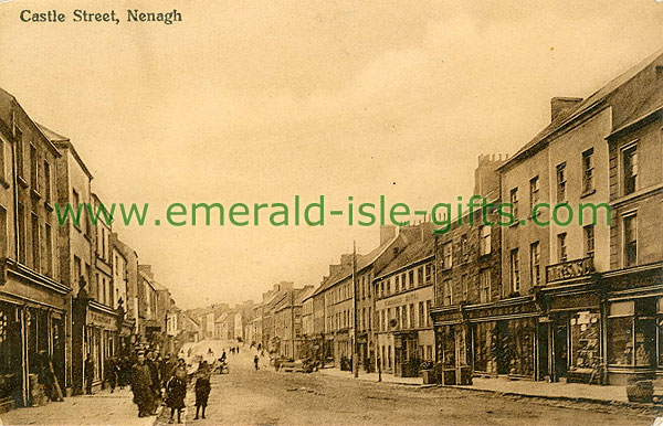 Tipperary Vintage Photographs - Nenagh - Castle Street