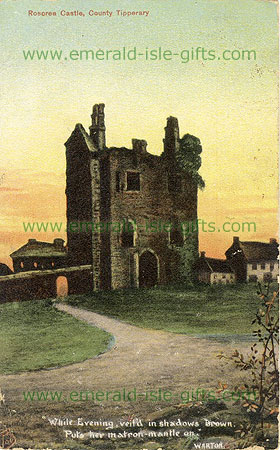 Tipperary - Roscrea Castle - evening