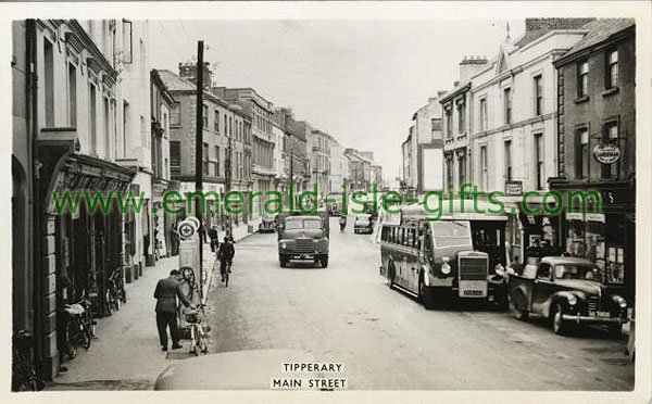Tipperary Town - The Main St 1950