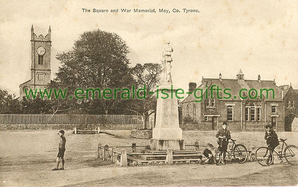 Tyrone - Moy - The Square and War Memorial