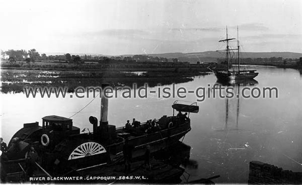 Waterford - Steamship on River Barrow