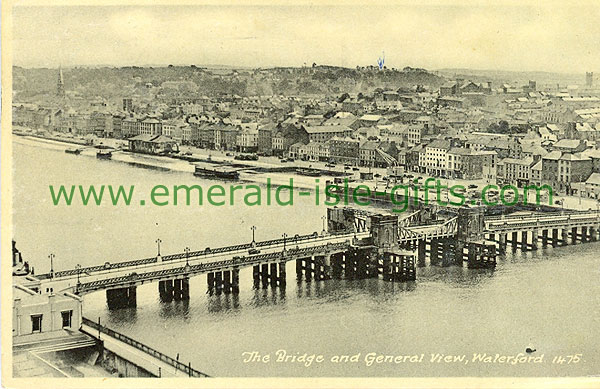 Waterford - Waterford City - The Bridge and General View