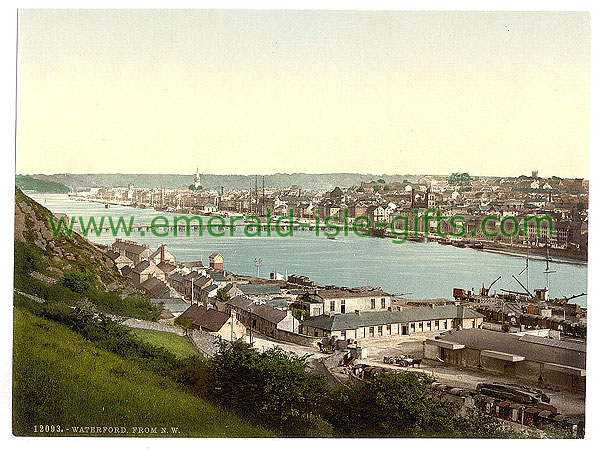 Waterford City from North West