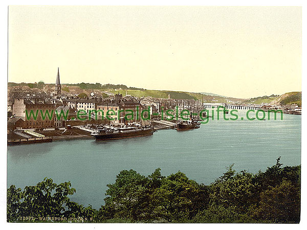 Waterford City from North East