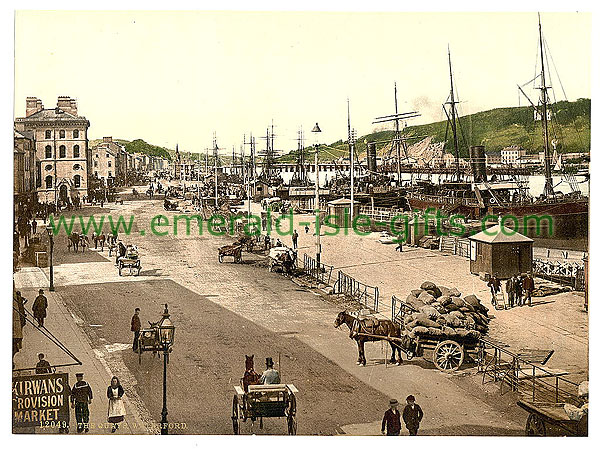 Waterford City - Scene on the Quays