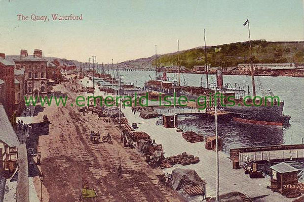 Waterford City - Along the Quay