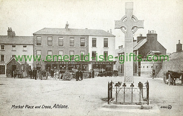 Westmeath - Athlone - Market Place & Cross