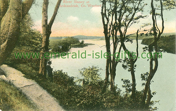 Wexford - River slaney at Ardcandrisk (old colour Irish photo)