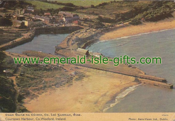 Wexford - Aerial View - Courtown Harbour