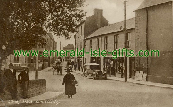 Wexford - Slaney Place - old Irish photo