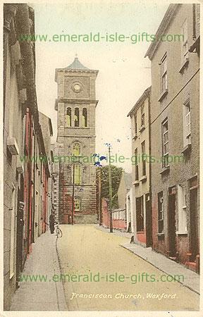 Wexford - Wexford Town - Franciscan Church (old colour Irish photo)