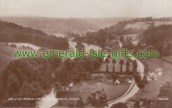 Wicklow - Vale of Avoca - vintage image