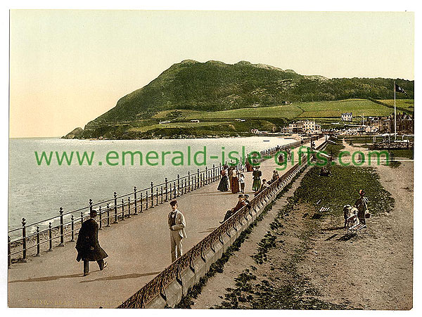 Wicklow - Bray - Photochrome photo