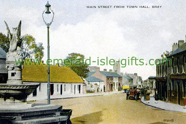 Wicklow - Bray - Main St from Town Hall