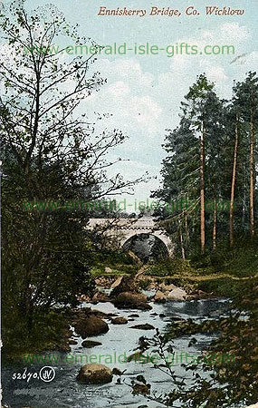 Wicklow - Bridge at Enniskerry - old photo