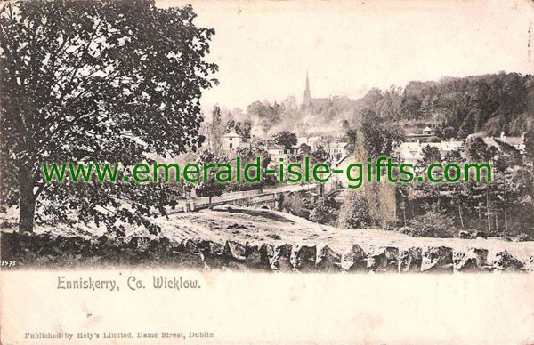 Wicklow - Old view of Enniskerry