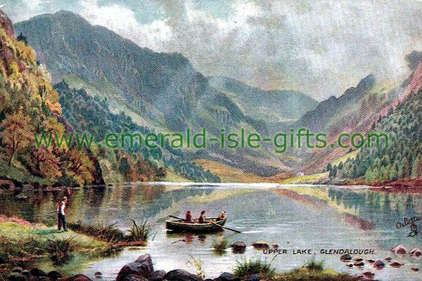 Wicklow - Glendalough - View of the Upper Lake