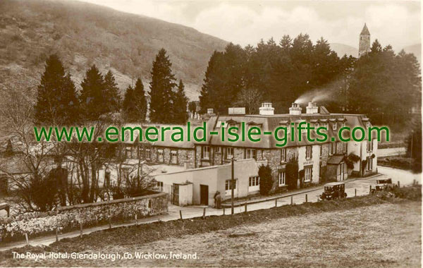 Wicklow - Lovely old photo of Royal Hotel, Glendalough