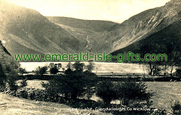 Wicklow - Classic view of the Upper Lake at Glendalough