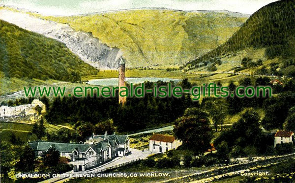 Wicklow - Glendalough is also known as The Seven Churches
