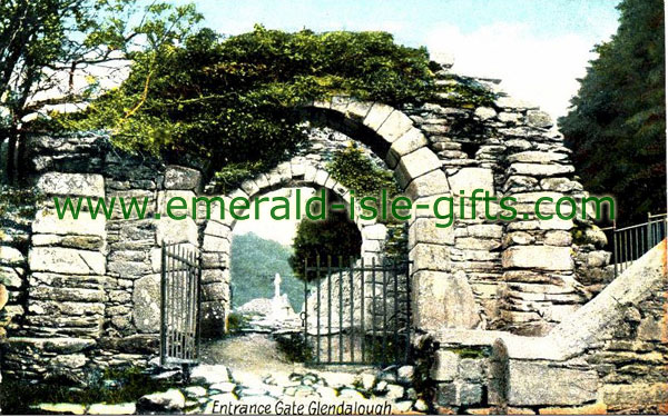 Wicklow - Entrance to the ancient Episcol city of Glendalough